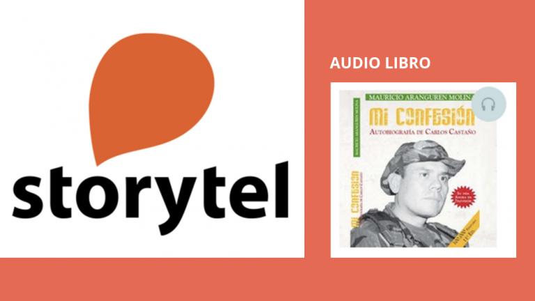 El libro Mi Confesión fue comprado por Storytel el Netflix de los audio libros